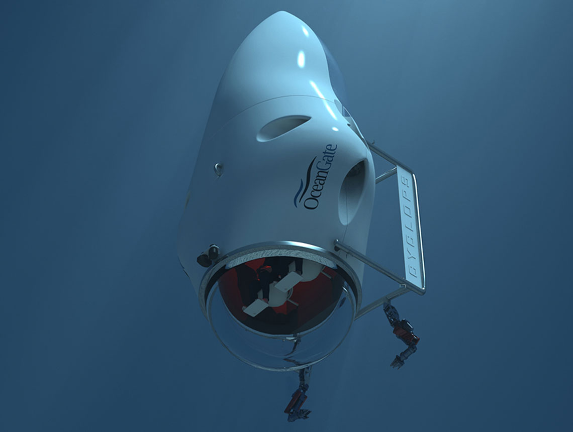 Cyclops 3000 manned submersible